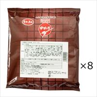 お好み焼 ゆかり もちチーズ 8枚 セット 〔(お好み焼き241g・濃厚ソース ほか調味料全4種)×8〕お好み焼き 大阪 粉もの