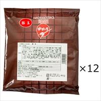 お好み焼 ゆかり 豚玉 12枚 セット 〔(お好み焼き200g・濃厚ソース ほか調味料全4種)×12〕お好み焼き 大阪 粉もの