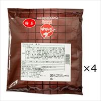 お好み焼 ゆかり 豚玉 4枚 セット 〔(お好み焼き200g・濃厚ソース ほか調味料全4種)×4〕お好み焼き 大阪 粉もの