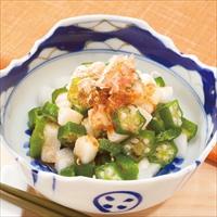 手軽に使える冷凍野菜 オクラと長芋ミックス 〔100g×20〕 野菜 冷凍
