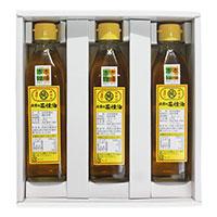 出雲の菜種油 贈答用 箱入 〔270g×3〕 食用油 調味料 島根県 影山製油所