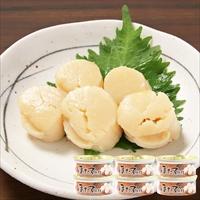 ほたて貝柱 缶詰 6缶 〔75g(固形量33g)×6〕 惣菜 宮城 マルヤ水産