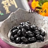 京都森の農園 黒豆甘露煮 4個 セット 〔100g×4〕 甘露煮 惣菜 京都黒豆屋